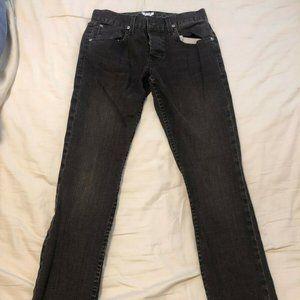 Hudson Men's Blake Slim Straight Leg Cotton 29